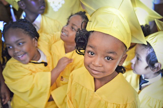 A few of our New Orleans area Head Start graduates