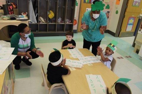 March 2021, Head Start, St. Patrick's Day